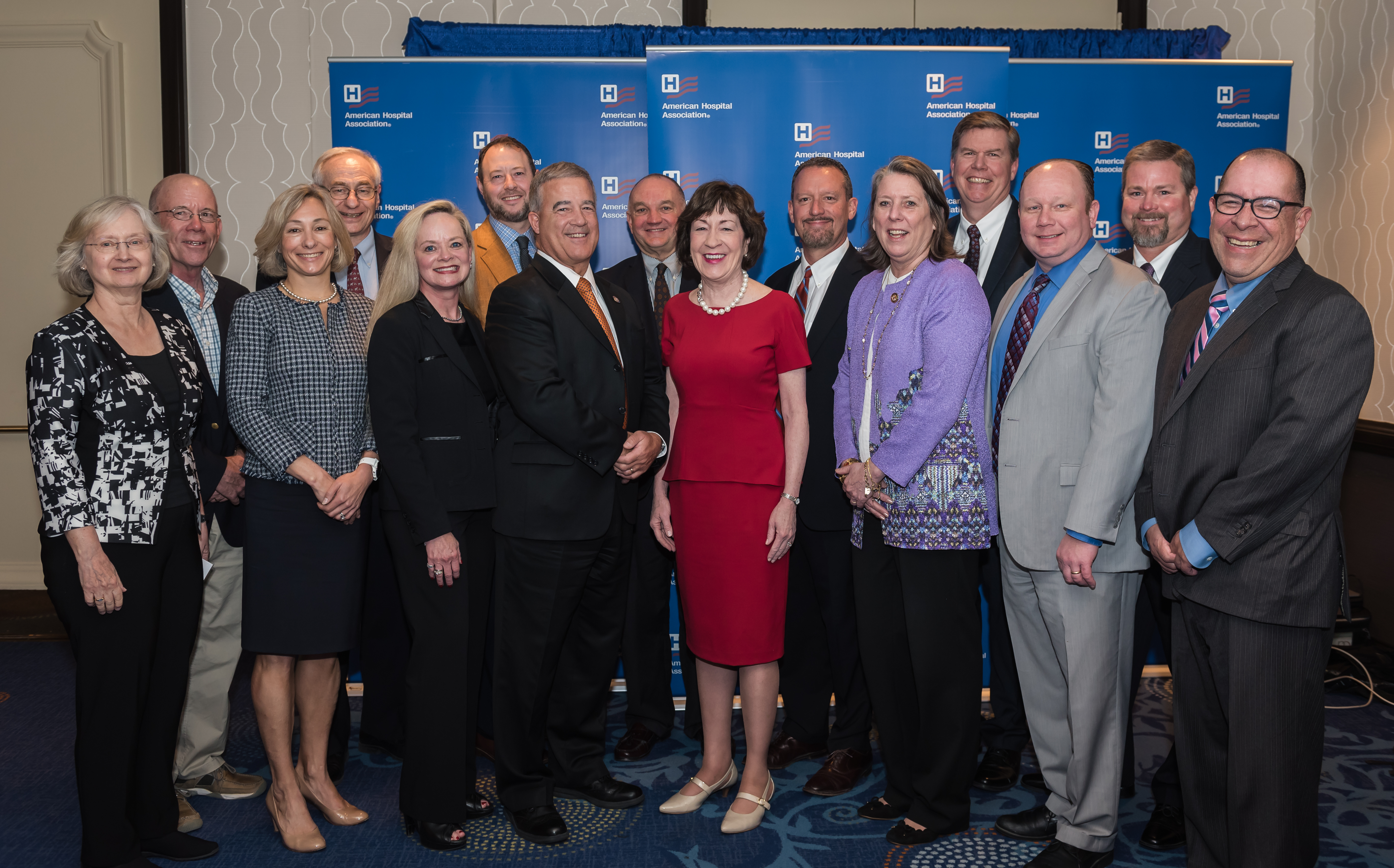 Susan-Collins-AHA-annual-meeting-group.JPG